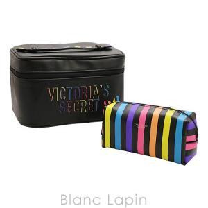 ヴィクトリアシークレット VICTORIA'S SECRET ヴァニティポーチセット #ブラック [820419] blanc-lapin