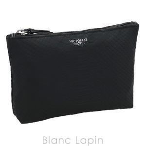 ヴィクトリアシークレット VICTORIA'S SECRET コスメポーチM パイソン #ブラック [064338] blanc-lapin
