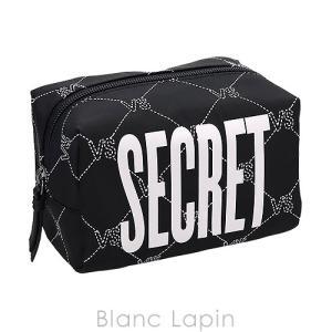 ヴィクトリアシークレット VICTORIA'S SECRET コスメポーチスクエア VSモノグラム #ブラック [064420] blanc-lapin
