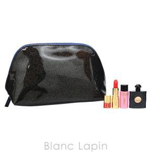 【ノベルティ】 イヴサンローラン YVES SAINT LAURENT ブラックOPポーチセット 7.5ml/10ml [206528]|blanc-lapin