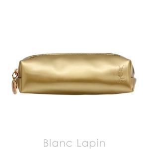 【ノベルティ】 イヴサンローラン YVES SAINT LAURENT コスメポーチ ペンケース型 #ゴールド [008721]|blanc-lapin
