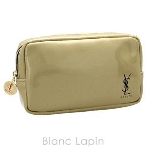 【ノベルティ】 イヴサンローラン YVES SAINT LAURENT コスメポーチ #ゴールド [812017]|blanc-lapin
