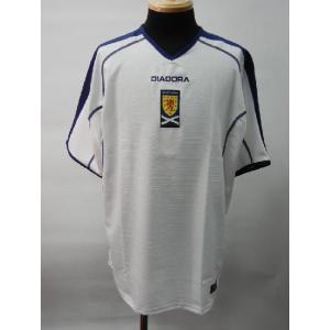 2004 スコットランド代表 アウェイ半袖|blanc-roche