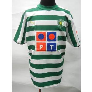 2006-2007 スポルティング・リスボン ホーム半袖|blanc-roche