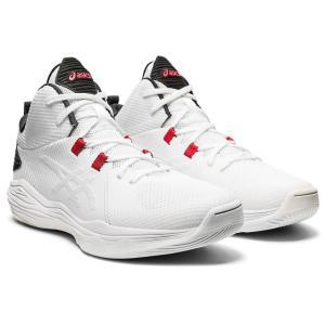 asics アシックス バスケットボールシューズ NOVA FLOW ホワイト×ブラック 1063A028-101 店舗在庫 2020FW|blanc-roche