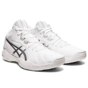 asics アシックス バスケットボールシューズ GELHOOP V13 ホワイト×ピュアシルバー 1063A035-100 店舗在庫 2021春夏|blanc-roche