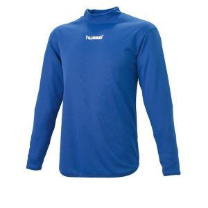 hummel ヒュンメル ハイネックインナーシャツ HAP5139 63 ロイヤルブルー|blanc-roche