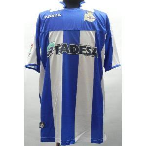2003-2004 ディポルティボ・ラ・コルーニャ ホーム 半袖|blanc-roche