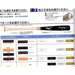 カスタム 木製バット 硬式用竹 グローバルエリート ミズノ  受注生産|blanc-roche