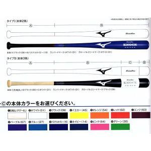 カスタム 木製ノックバット グローバルエリート 朴 ミズノ  受注生産|blanc-roche