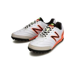 ワイドモデル ニューバランス New Balance サッカートレーニングシューズ 442 TEAM TF WC1 2E ホワイト×オレンジ MSCFTWC1 2021春夏 店舗在庫 |blanc-roche