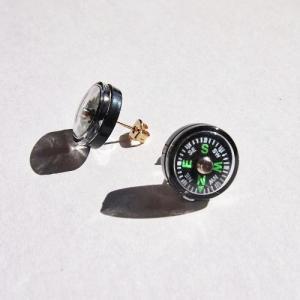 メール便 不可  コンパス ピアス Compass earring Royal Freedom ロイヤルフリーダム|blancoron