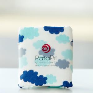 メール便 不可 雲 cloud  ガーゼタオル gauze towel  Mango Art Company マンゴーアートカンパニーx PataPri デザイン|blancoron
