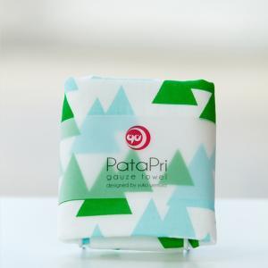 メール便 不可 山 mountain  ガーゼタオル gauze towel  Mango Art Company マンゴーアートカンパニーx PataPri デザイン|blancoron