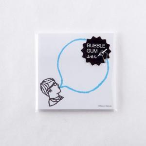 バブルガムふせん bubble gum sticky notes  Mango Art Company マンゴーアートカンパニーx たつみなつこデザイン|blancoron