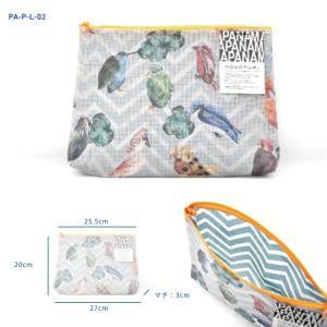 PA-P-L-02 ▲在庫限り ▲ メール便 不可▲ PANAMA パナマ ポーチ Lサイズ Pouch Large size blancoron