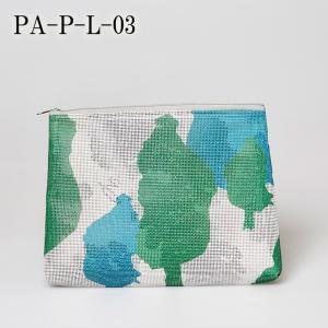 PA-P-L-03 ▲ メール便 不可▲ PANAMA パナマ ポーチ Lサイズ Pouch Large size blancoron