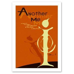アートポスター A3サイズ 『Another me』 インテリア ポップポスター Interior Art Poster blankwall