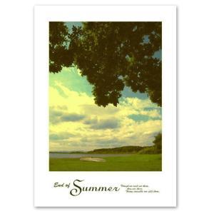 ポスター A3サイズ 『Fades』 フォト 風景 湖畔 おしゃれポスター Interior Art Poster|blankwall
