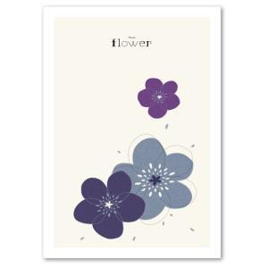 アートポスター 北欧スタイル A3サイズ 『Flower C』 花,植物 インテリア おしゃれ Interior Poster blankwall