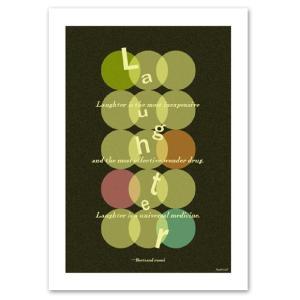 ポスター A2サイズ 『Laughter』 インテリア/デザイン/ポップ ポスター/ Interior Art Poster blankwall