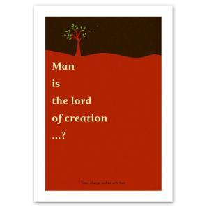 ポスター A2サイズ 『Lord レッド』 アート/北欧デザインポスター/Interior Art Poster|blankwall
