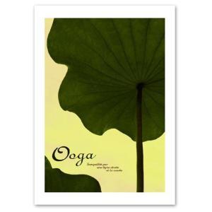 ポスター A2サイズ 『Ooga』 おしゃれ/フォト/花,植物 ポスター/ Interior Art Poster|blankwall
