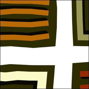 ポスター A2サイズ 『Quadorato』 アート 北欧 人気 おしゃれ ポスター Interior Art Poster|blankwall|02