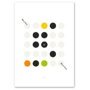 ポスター A2サイズ 『R&D-b』 イラストアート インテリア シリーズ Interior Art Poster|blankwall