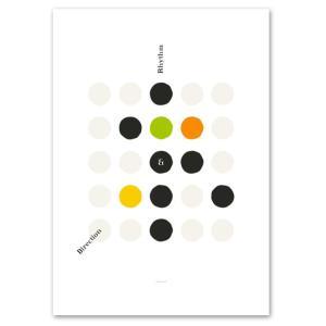 ポスター A3サイズ 『R&D-d』 イラストアート インテリア シリーズ Interior Art Poster|blankwall