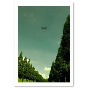 ポスター A3サイズ 『Rue』 インテリア フォト 風景,景色 ポスター Interior Art Poster|blankwall