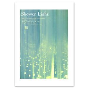 ポスター A3サイズ 『Shower Light』 おしゃれ フォト ポスター Interior Art Poster blankwall