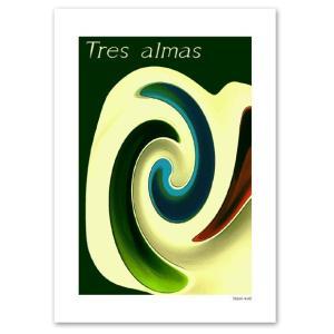 ポスター A3サイズ 『Tres almas』 インテリア デザイン アート ポスター Interior Art Poster|blankwall