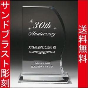 表彰盾 名入れ 表彰式 発表会 社内表彰 イベント 優勝 DP−11 L|blastglass