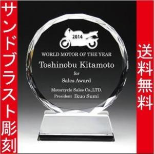 表彰盾 名入れ 表彰式 発表会 社内表彰 イベント 優勝 DP−3 M |blastglass