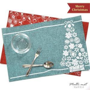 インテリア マルチ マット 和柄 BLAZE クリスマス 雑貨 飾り ディスプレイ 和風 ツリー|blaze-japan