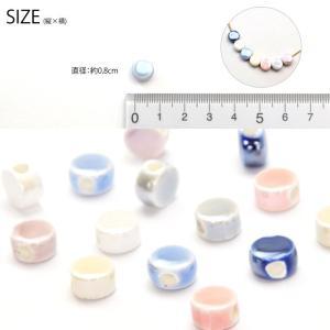 陶器ビーズ コイン 8個入り BLAZE|blaze-japan|03