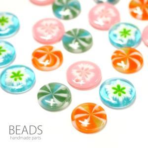 アクリルビーズ キャンディー 6個セット BLAZE ハンドメイド|blaze-japan