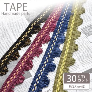 計り売り 10cm単位 フリンジテープ シックカラー|blaze-japan