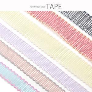 計り売り50cm単位 カラフル レース テープ ダブルカラー 25mm幅 40mm幅 テープ BLAZE  ハンドメイド クラフト blaze-japan