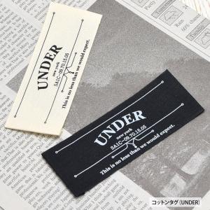 コットン タグ UNDER|blaze-japan