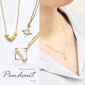 ゴールド ネックレス 小さめ トップ アクセサリー ゴールド ペンダント プレゼント|blaze-japan