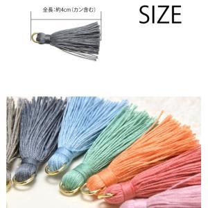タッセル パーツ ナチュラル カラー 約4cm blaze-japan 03