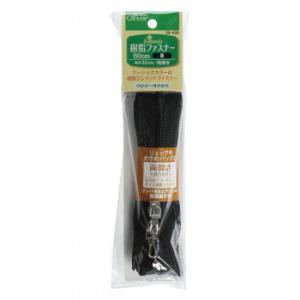 クロバー 樹脂ファスナー 60cm 黒 26-420