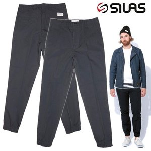 (SOLDOUT)SILAS サイラス ジョガーパンツ コットンナイロン紺JOGGER TROUSERS/NAVY 再入荷 bless-web