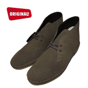 (SOLDOUT)Clarks ORIGINALS クラークスオリジナルズ デザートブーツ クレープソール 20356338DESERT BOOT/OLIVE SUEDE|bless-web