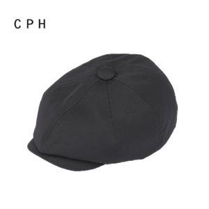8月上旬発売先行予約 CPH シーピーエイチ C-PLUS HEAD WEARS ハンチング キャスケット 帽子 575NL CASQUETTE SERVANT NYLON BLACK bless-web