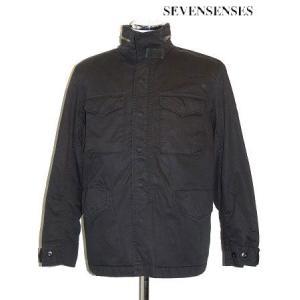 (SOLDOUT)SEVENSENSES(セブンセンシーズ)M-65ジャケットM-65 FIELD JKT/BLACK bless-web