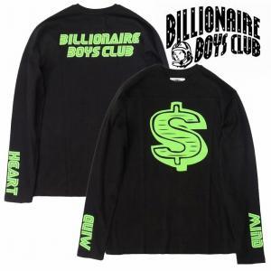 20%OFF BillionaireBoysClub ビリオネアボーイズクラブ カットソー 長袖 フットボールTシャツ MOTO DOLLAR LS bless-web