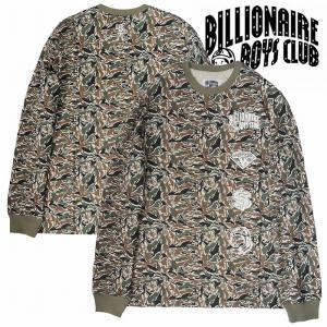 20%OFF BillionaireBoysClub ビリオネアボーイズクラブ カットソー 長袖Tシャツ 迷彩 CAMO SPACE MIX LS bless-web